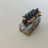 ww1 fighter aircraft collection /  Fascicle 1 of Albatros D.va (engine) image