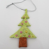 Christmas tree ornament_christmas tree with lights image