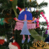 Christmas tree ornament_Xmas angel for decoration image