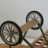 ww1 fighter aircraft collection / Fascicle 3 of Albatros D.va (landing gear) image
