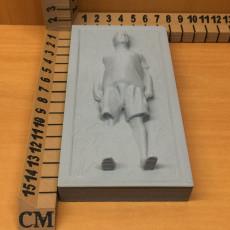 Picture of print of Santa in Carbonite