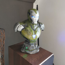 Picture of print of Mark 85 Bust - Iron Man
