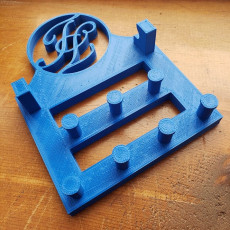 Monogram Jewelry Holder