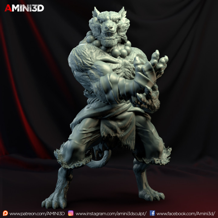 3d Printable Tabaxi02 Monkm By Lesley Rebusa Tabaxi monk demonstrating that not all unarmed strikes have to be done with fists and kicks. tabaxi02 monkm