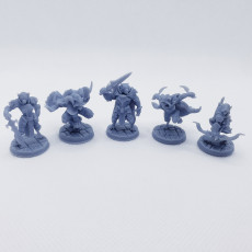 Picture of print of Tabaxi_set
