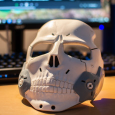 Picture of print of Death Stranding Die Hard Man Mask Optimzed For 3D Printing