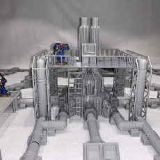 Picture of print of 5070 Industrial Complex Addon furnace + accessoris
