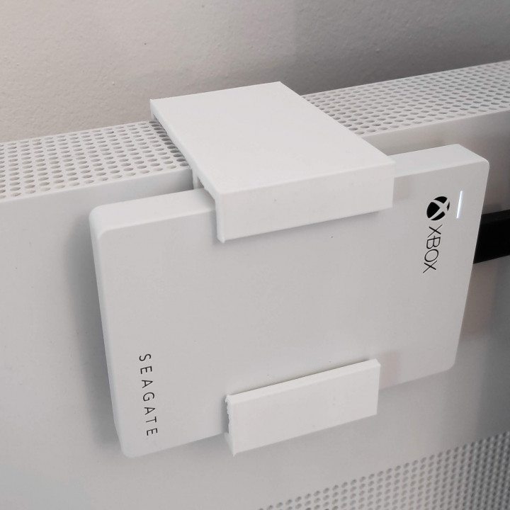 xBox external hard drive holder