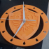 Zelda hylian shield clock image