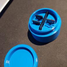 Small portable SD card holder