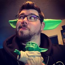 Baby Yoda Ears Head Band