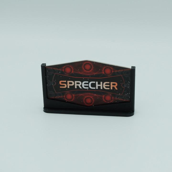 Twilight Imperium 4 Speaker Stand