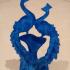 Peacocks Ornament aka Peacecocks image