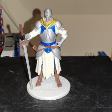 Picture of print of Medival Knight
