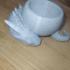 Dragon bowl print image