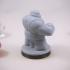 Dwarven Brawling Santa Miniature image