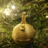 The Little Prince - Star and Rose Christmas Tree Bauble image