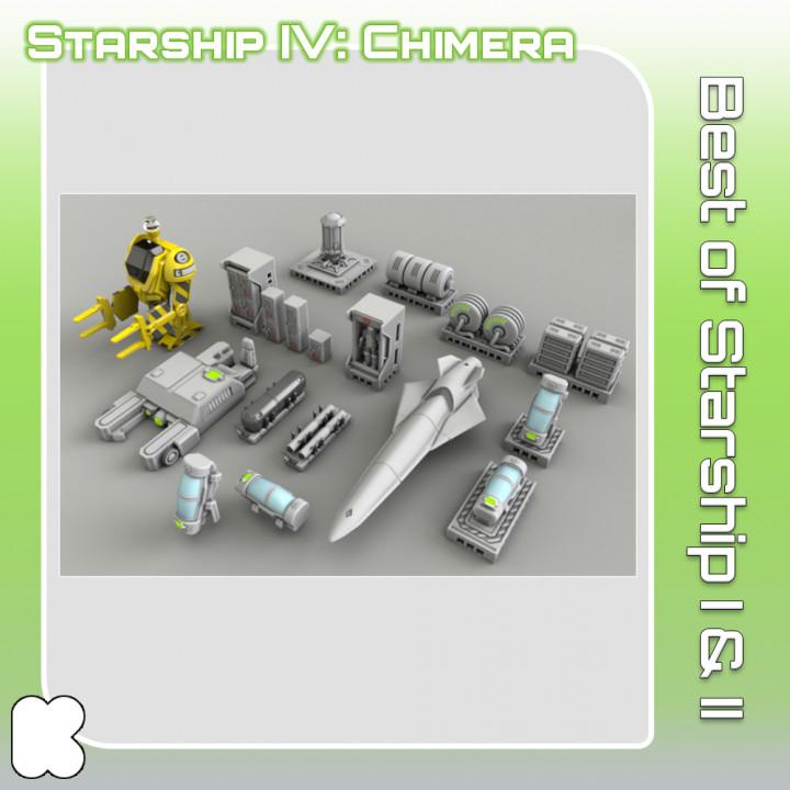 Best of Starship I & II's Cover