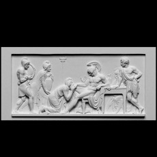 Priam Pleads with Achilles for Hector's Body