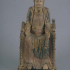 Romanesque Enthroned Madonna image