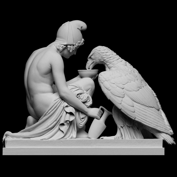 Ganymede with Jupiter's Eagle