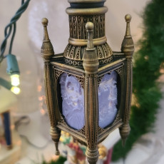 Picture of print of String Light Lithophane Ornament