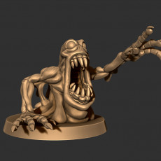 Ectomorph Monster Figure - Wretched Soul (sample)