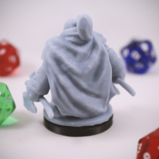 Picture of print of Dwarven Rogue 06 Miniature
