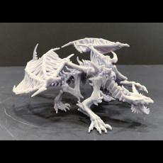 Skeletal Dragon Pose #1