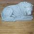 Recumbent Lion print image