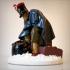 Berezina Napoleon soldier image