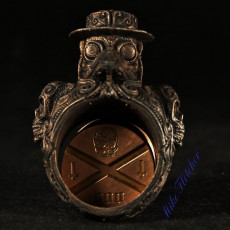 Picture of print of Plague doctor ring