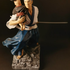 Picture of print of Lone Wolf and Cub Pre-Supported