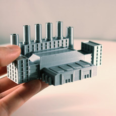 Picture of print of Factory Complex