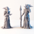 Mind Flayer - 3D printable character - 2 Poses image