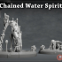 Chained Water Spirit - 3D Printable Character - 2 Poses image