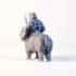 Rhino Centaur - 3D Printable Character - 2 Poses image