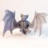 Direbat - 3D Printable Monster - 2 Poses image