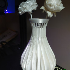 Picture of print of INTER CROSS SPIRAL FLOWER VASE