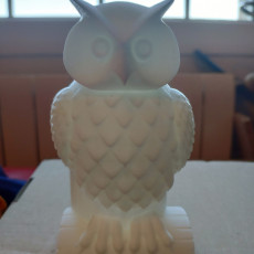Picture of print of OWL PEN HOLDER