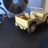 Jeep Willis 3d printed at 1/20 scale image