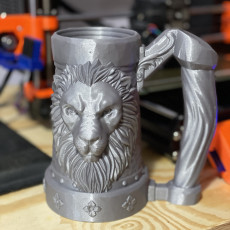 Picture of print of Mythic Mugs - Lion's Brew - Can Holder / Storage Container Questa stampa è stata caricata da Shane linamar