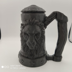 Picture of print of Mythic Mugs - Lion's Brew - Can Holder / Storage Container Cet objet imprimé a été téléchargé par Patrick Born