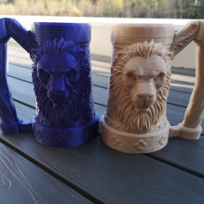Picture of print of Mythic Mugs - Lion's Brew - Can Holder / Storage Container Questa stampa è stata caricata da Preben Poulsen
