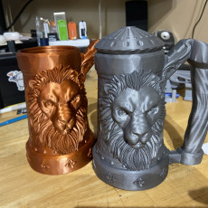 Picture of print of Mythic Mugs - Lion's Brew - Can Holder / Storage Container Questa stampa è stata caricata da Wes Lyons