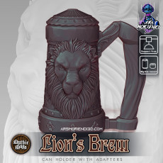 Mythic Mugs - Lion's Brew - Can Holder / Storage Container