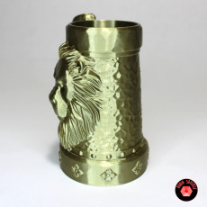 Picture of print of Mythic Mugs - Lion's Brew - Can Holder / Storage Container
