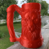 Mythic Mugs - Lion's Brew - Can Holder / Storage Container print image