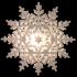 Big shining snowflake image