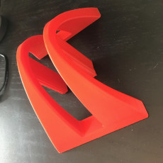 Picture of print of Notebook stand (with Fusion360 sources)